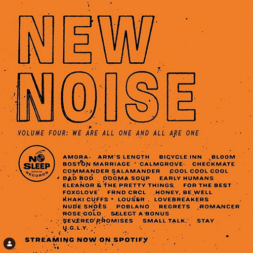 """Eye Roller"" added to the NEW NOISE SPOTIFY PLAYLIST"